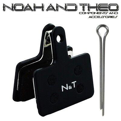N&t Shimano B01 B01S E01 E01S M05 M05S M05Ti Semi Metálico Pastillas...