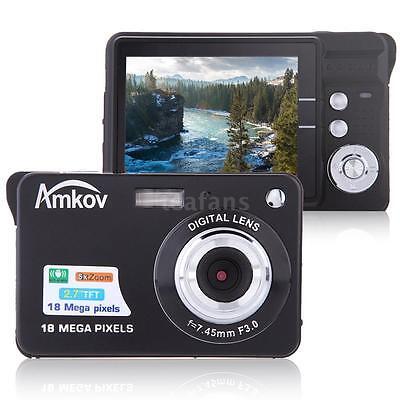 "1280 720 Hd Digital Camera 18mp 2.7"" Tft 8x Zoom Continue..."