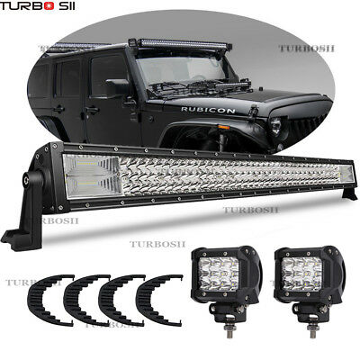 For JEEP Ford Toyota Offroad 44 Inch  Led Light Bar Spot Flood Combo Sealed (Suzuki Vitara Jeep)