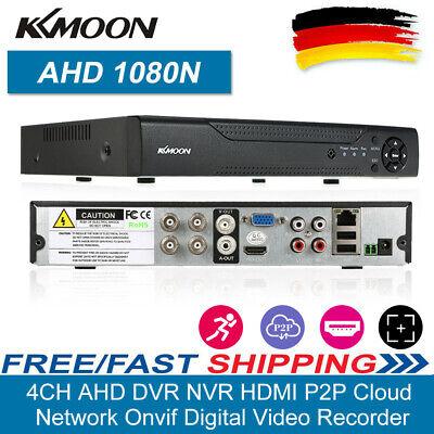 4CH 1080P AHD DVR HVR NVR Video Recorder Sicherheit H.264 CCTV Überwachungs DHL H. 264 Dvr