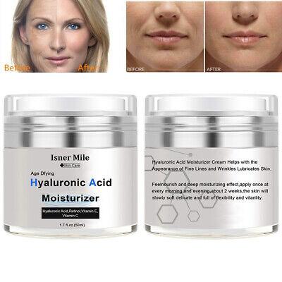 Hyaluronic Acid Gel Cream Intense Anti-Aging Wrinkles Face Serum Moisturizer Face Moisturizing Gel