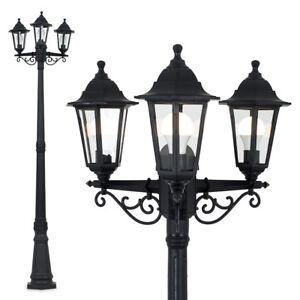 Victorian Style 3 Way Outdoor Garden Street Light Lamp Post Lamppost Lighting
