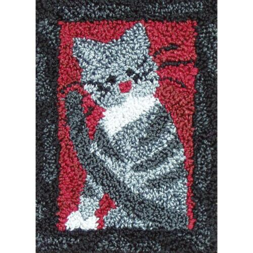 Small Cat Punch Needle Embroidery Kit