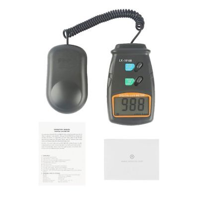 Lx-1010b Digital Lux Photometer Luxmeter Light Level Sensor Tester Meter 0-50000