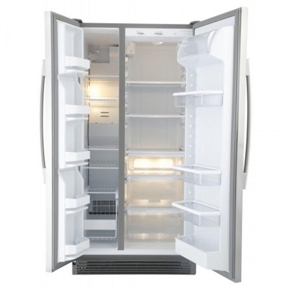 Whirlpool 6ed2fhkxva 23 Cu Ft Side By Side Refrigerator
