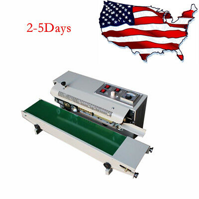 Automatic Horizontal Continuous Plastic Bag Band Sealing Sealer Machine Industry