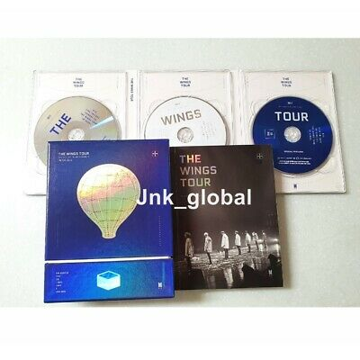 BTS The Wings Tour In Seoul 2017 DVD Live Trilogy Episode III Set No Photo Card