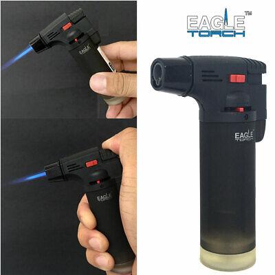 Eagle Torch Gun Lighter Butane Refillable Semi Transparent B
