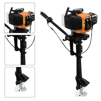 Außenborder Außenbordmotor Bootsmotor Motor 2-takt Luftgekühlt 2.5KW / 3,5 PS DE