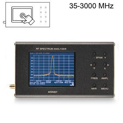 Portable Rf Spectrum Analyzer Arinst Ssa R2 3 Ghz 35 Mhz - 3000 Mhz