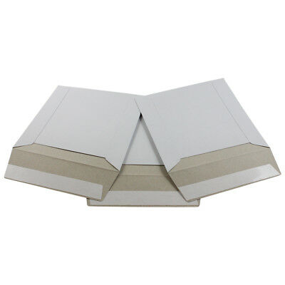 100 - 6x6 Ecoswift Brand Self Seal Cardboard Cddvd Envelope Mailers 6 X 6