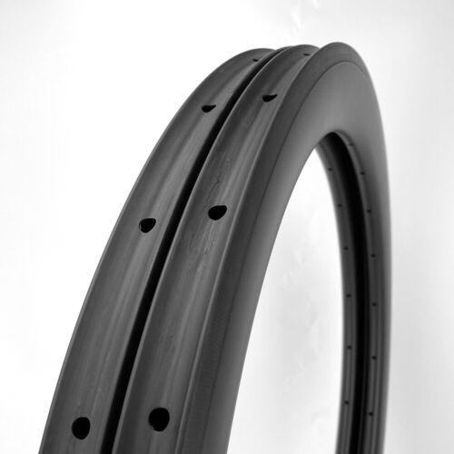 LAST STOCK New Road Bike 58mm Depth 700C Carbon Rim Clincher 1PAIR