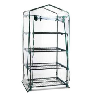 4 Shelf Greenhouse with Transparent PVC Cover - free delivery Sydney City Inner Sydney Preview