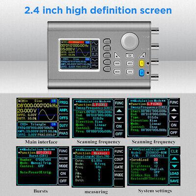 60mhz Dds Signal Generator Module Dual-channel Sine Frequency Usb 266msas Ttl