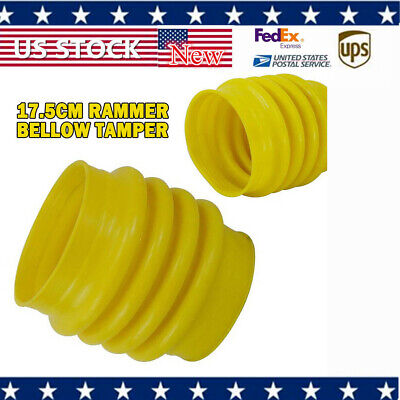 New 1pcs Jumping Jack Bellows Boot For Wacker Rammer Compactor Tamper Yellow Us
