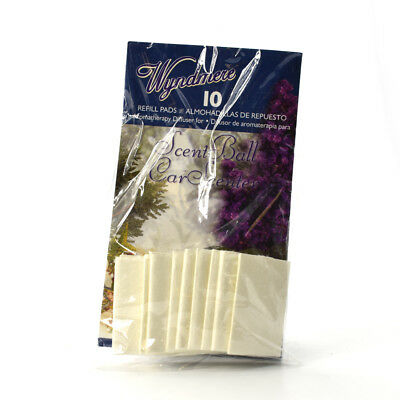 Aromatherapy Diffuser Refill Pads - Wyndmere Aromatherapy Refill Pads for Diffuser - 10 Pads
