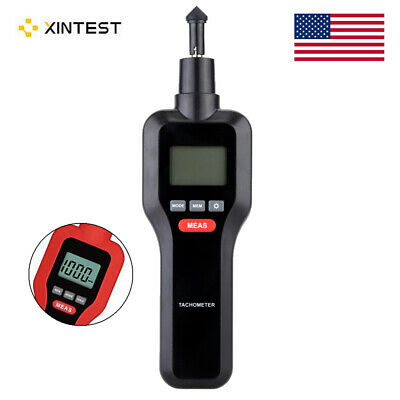 HT-522 2in1 Handheld Non-contact Contact LCD Digital Tachometer 2-99999RPM L3K2