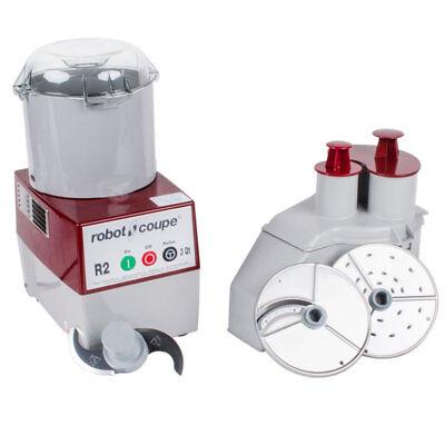 Robot Coupe R2n Commercial Food Processor W 3 Quart Bowl