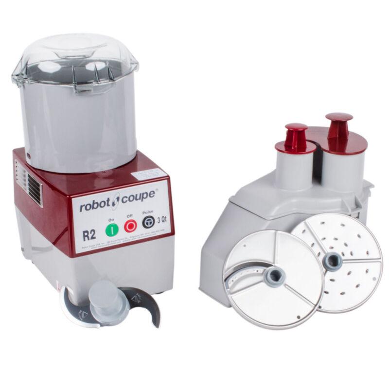 Robot Coupe R2N Commercial Food Processor W/ 3 Quart Bowl