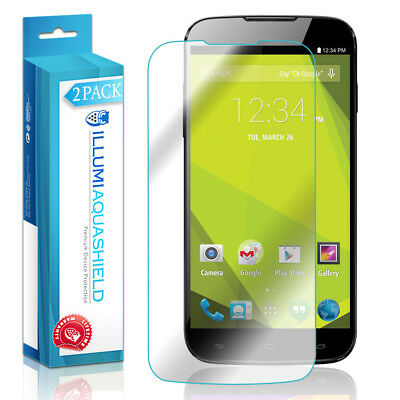 2x iLLumi AquaShield Crystal HD Clear Screen Protector for BLU Studio 6.0 HD Screen Protector Crystal Blue