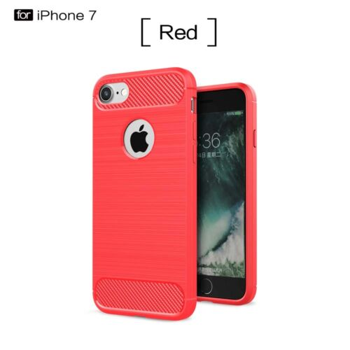 For iPhone X 5 SE Plus 7 6 Luxury Hybrid Rugged Matte Shockproof Back Case Cover