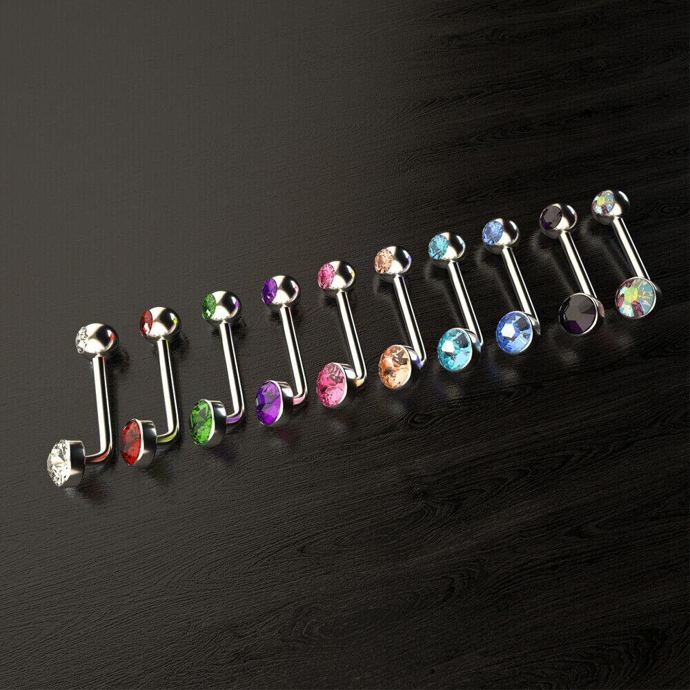 Xpircn 14G Titanium Christina Piercins Barbell VCH Bar Genital Jewellery