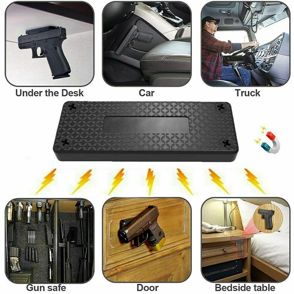 Magnetic Holster Gun Holder For Car Magnet Mount Concealed P
