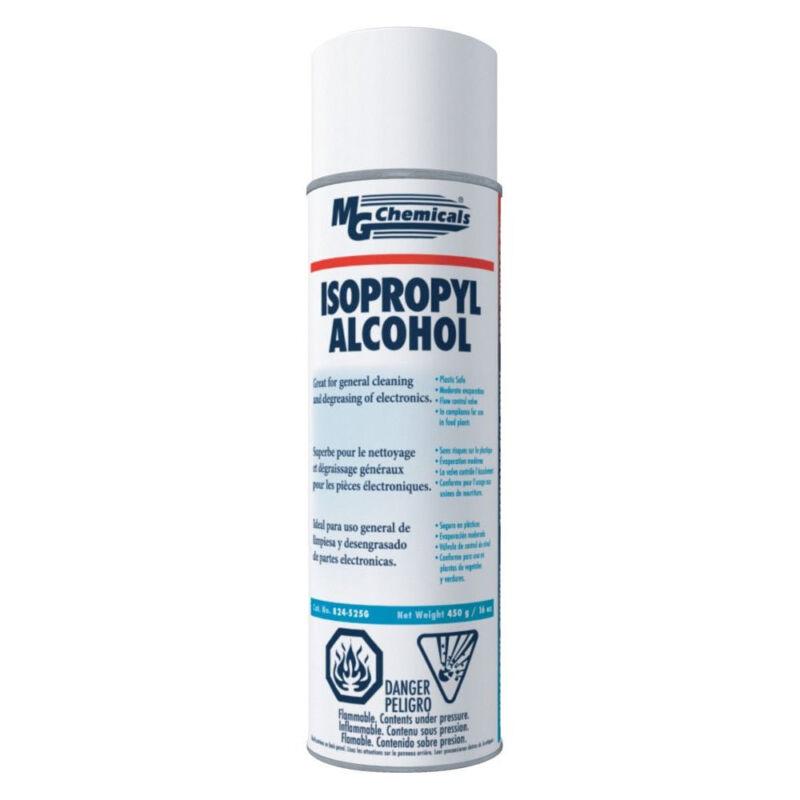 MG Chemicals 824-450G 99.9% Isopropyl Alcohol Liquid Cleaner 16oz Aerosol NEW!!!