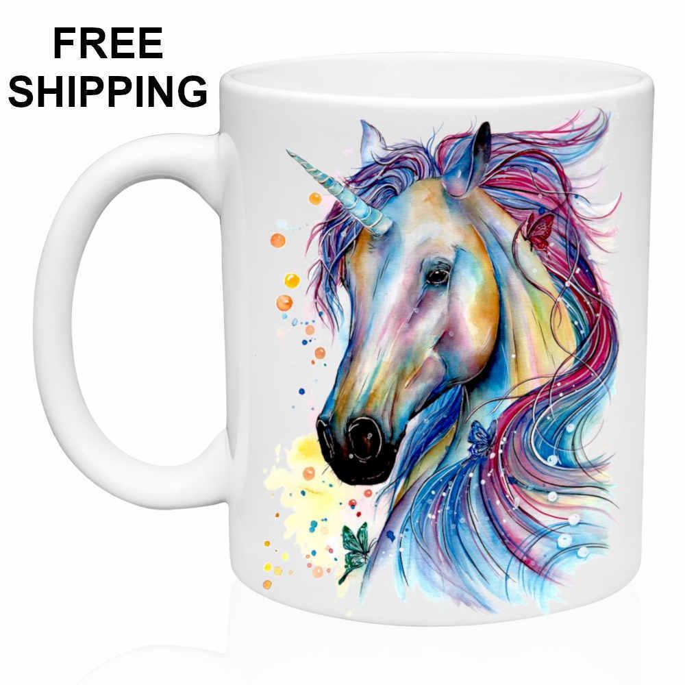 Unicorn, Coffee- Tea Gift Mug 11oz