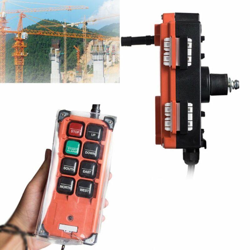 Wireless 12/24V Industrial Transmitter&Receiver Hoist Crane Radio Remote Control