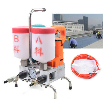 Grouting Machine Epoxy Injection High Pressure Leak Stoppage Machine 10kpai 220v