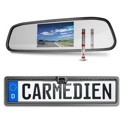 Video Rückfahrsystem Rückspiegel Bildschirm Rückfahrkamera Wohnmobil Transporter Mobile Video-bildschirm