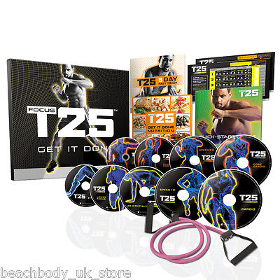 FOCUS T25: Shaun T's 25 Minute workout