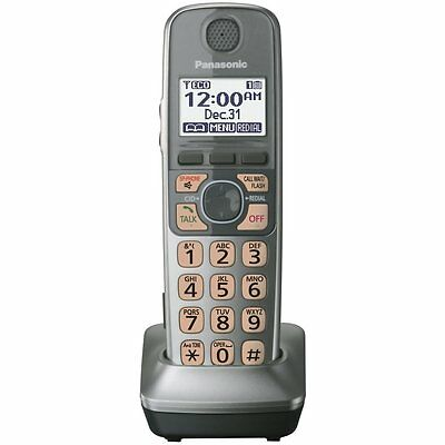 Panasonic KX-TGA470S DECT 6. Extra Additional Cordless Phone With charger Silver