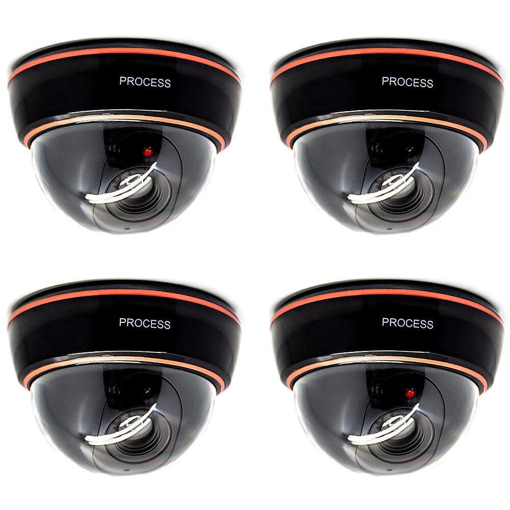 Dummy Videoüberwachung Kamera Überwachungskamera Alarmanlage Attrappe mit LED