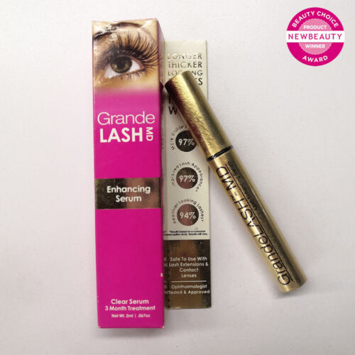 GrandeLASH-MD Lash Enhancing Serum - 2ml (3-MONTH TREATMENT), SEALED IN BOX