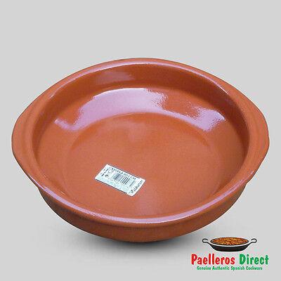 22cm Spanish Terracotta Tapas Dish / Cazuela