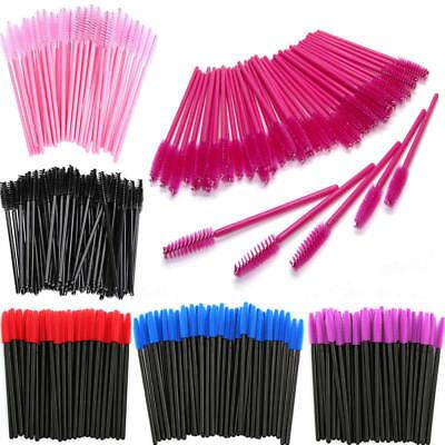50/100PCS Disposable Mascara Wands Eyelash Brushes Lash Extension Applicator