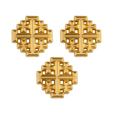 Lapel Pins Gold Plated Christian (Lot of 3) (Christian Lapel Pins)