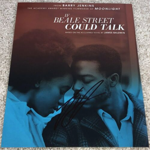 BARRY JENKINS SIGNED AUTOGRAPH IF BEALE STREET COULD TALK 8x10 PHOTO w/PROOF