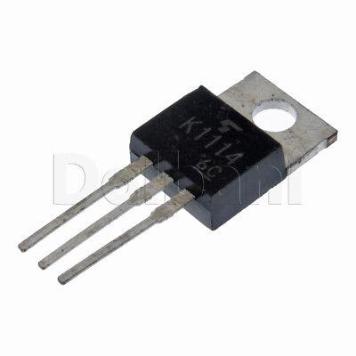 2sk1114 Original Toshiba Power Fet 12a 60v .13ohm Npn To-220ab