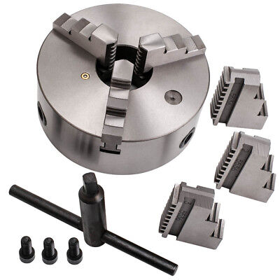 For Cnc Drilling Milling 8 3 Jaw Self-centering Lathe Chuck K11-200 Hardened