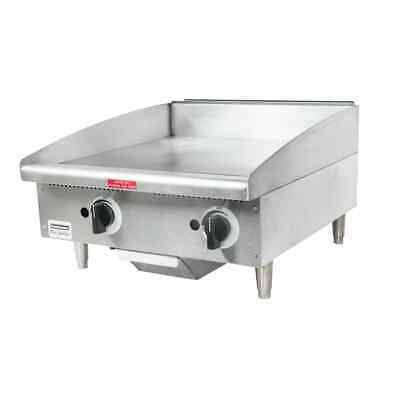 Toastmaster Tmgm24 Gas Countertop Griddle 24 W Manual Controls