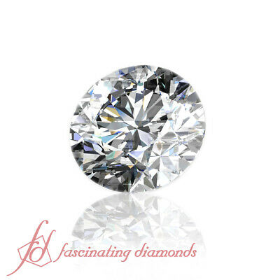 3/4 Carat Round Cut Diamond - Non-Treated Diamonds For Sale - Certified Diamond