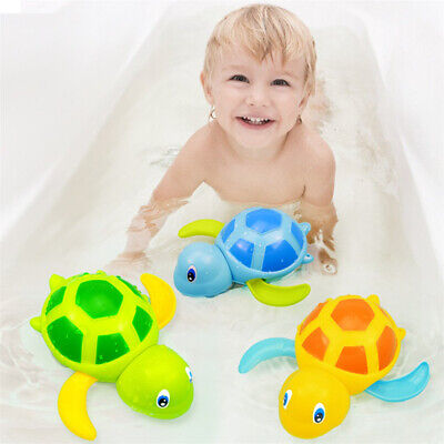 Baby Bath Toys Tub Water Play Turtle Game Pool Clockwork For Boys Girls Kids
