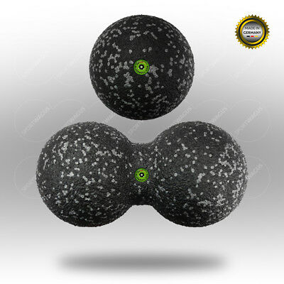 Original BLACKROLL Ball 12 cm + DuoBall 12 cm (Höhe) Massageball-Set Bälle groß