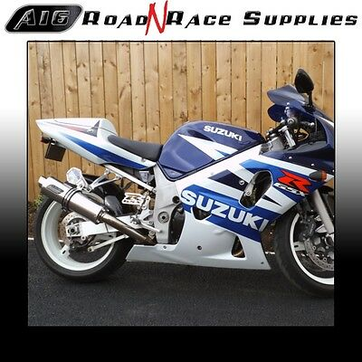 Suzuki GSXR 1000 2000-2004 K1 K2 K3 K4 A16 Stainless Exhaust - Road Legal    for sale  Shipping to Ireland