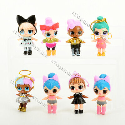 Lot of 8 pcs LOL Surprise Dolls Figures Set Baby Tear Series for Kids Party Toys