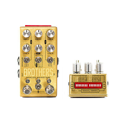 Chase Bliss Audio Brothers Analog Gainstage Pedal +Picks