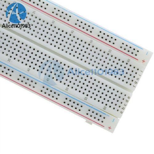 Solderless MB-102 MB102 Breadboard 830 Tie Point PCB BreadBoard Arduino XCVB